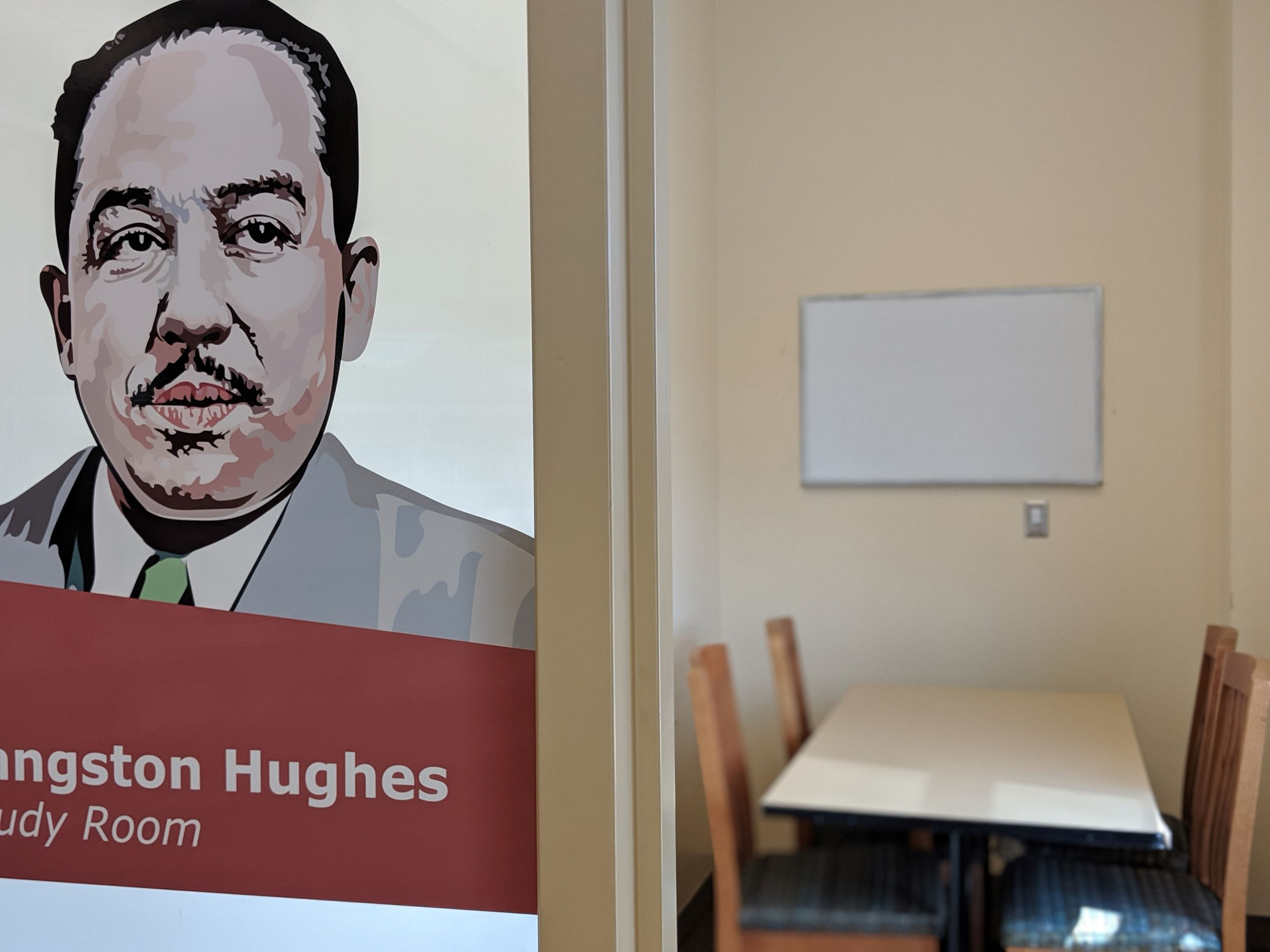 Langston Hughes Study Room