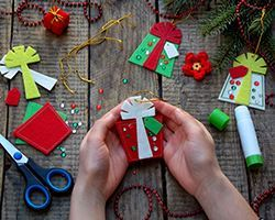 Paper Ornaments for Trim the Tree