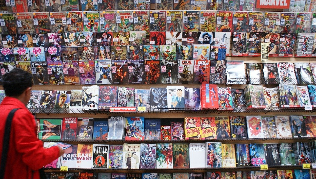 Browsing Comic Books