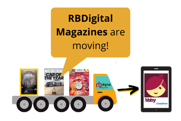 RBDigital Magazines are Moving!