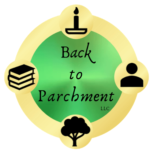 Back to Parchment, LLC LOGO