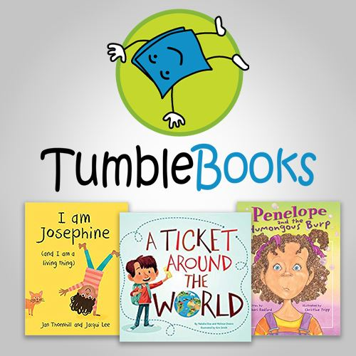 Tumblebooks - animated books Opens in new window