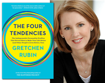 gretchen rubin, author event, four tendencies, book tour,