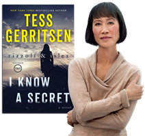 tess gerritsen, i know a secret, author, event, free, book signing,