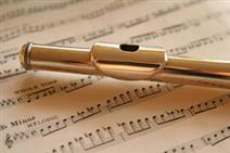 flute, concert, free, library,