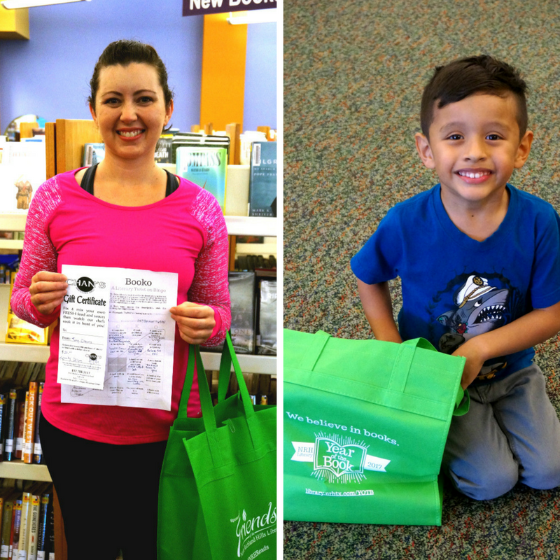 prize winners, reading challenge, booko,