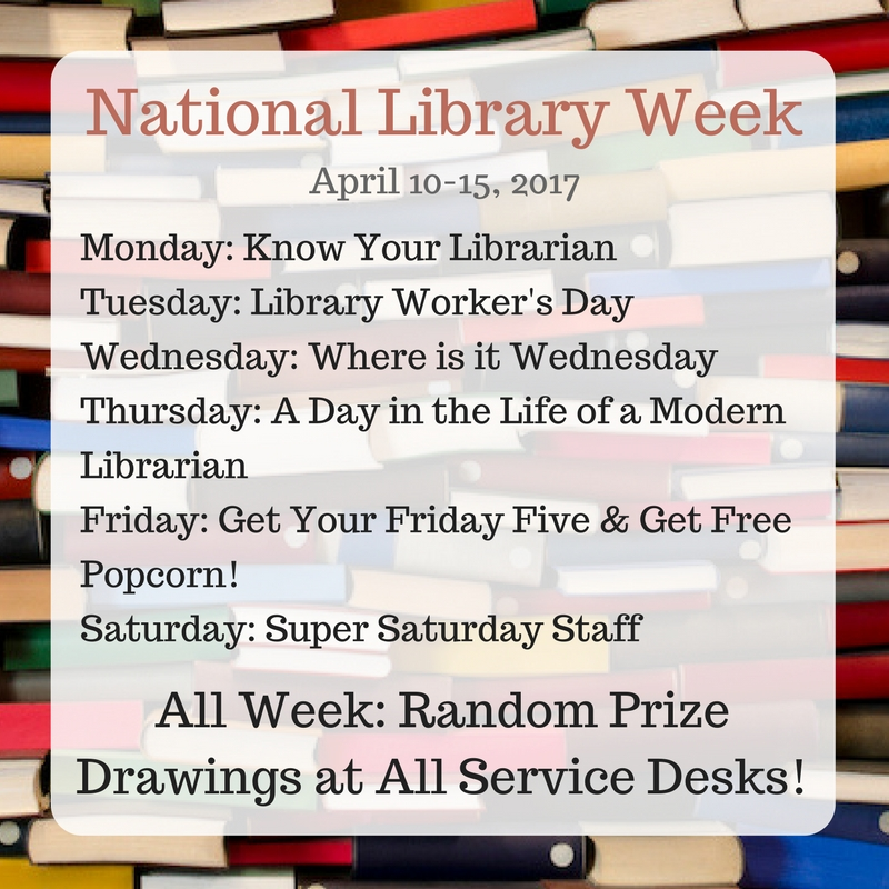 national library week, libraries transform,