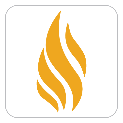 library, flame, icon, app