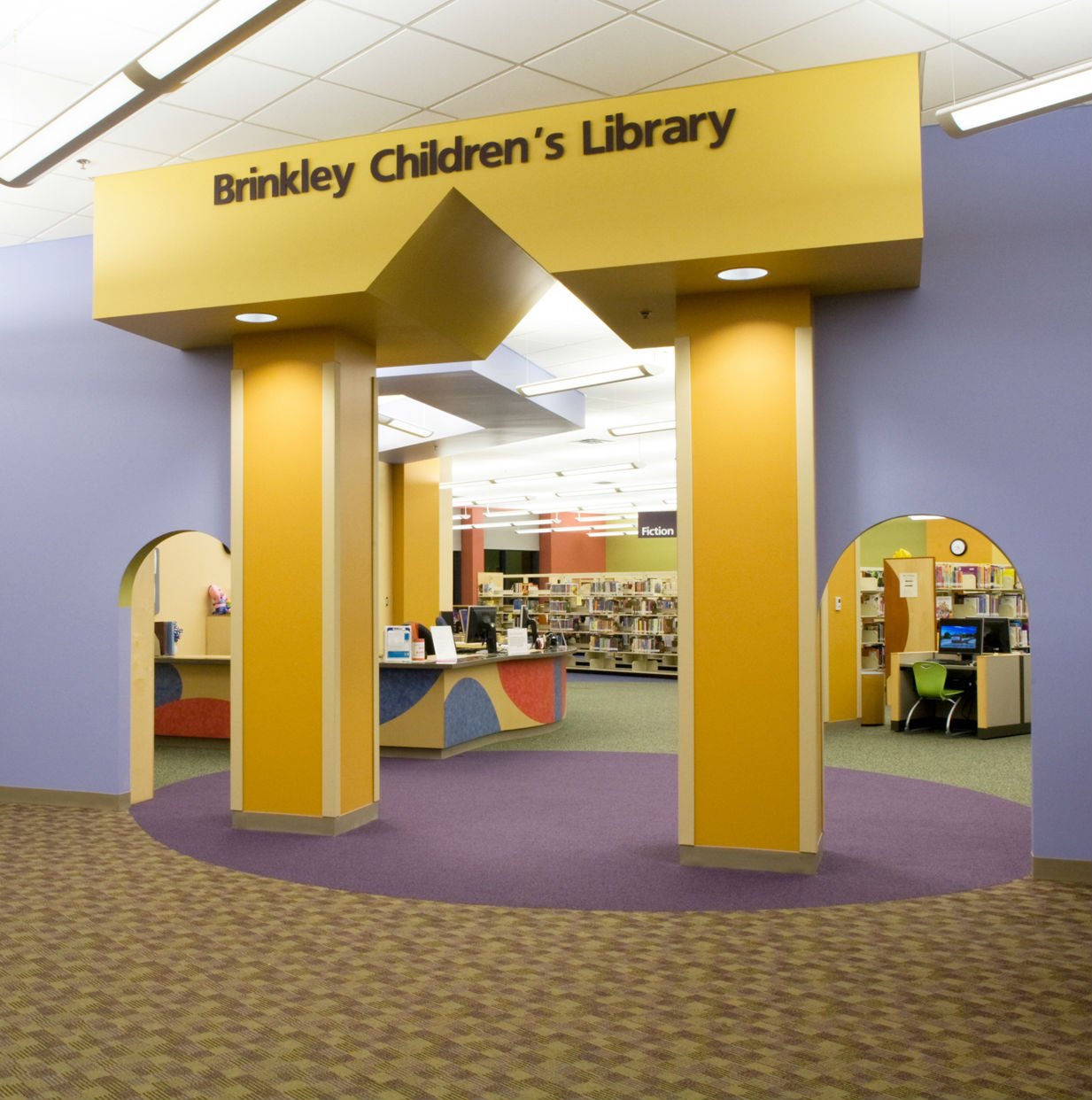 brinkley children's library, north richland hills library, texas,
